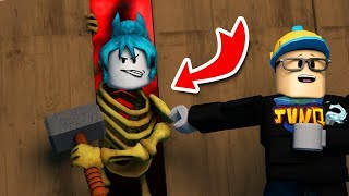 MONSTER GOT STUCK in the GAME l ROBLOX DEAD BY DAYLIGHT