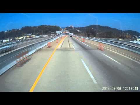 Driving I 24 to Hwy 27 through Chattanooga TN