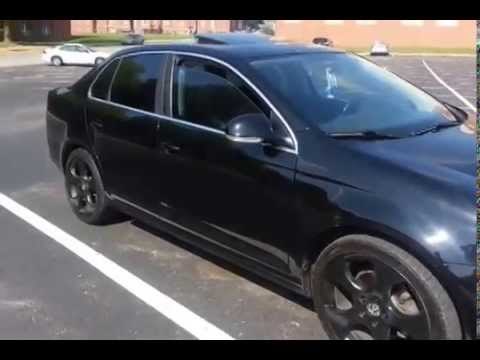 VW Jetta Rims >> 2008 Blacked Out Jetta with Plasti Dipped Rims - YouTube