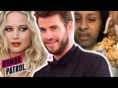 Liam Hemsworth DATING Jennifer Lawrence?! Chick-Fil-A Hires Cardi B To SHADE Popeyes? (Rumor Patrol)
