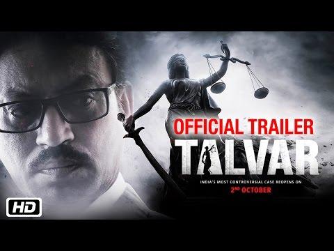 'Talvar' Official Trailer | Irrfan...