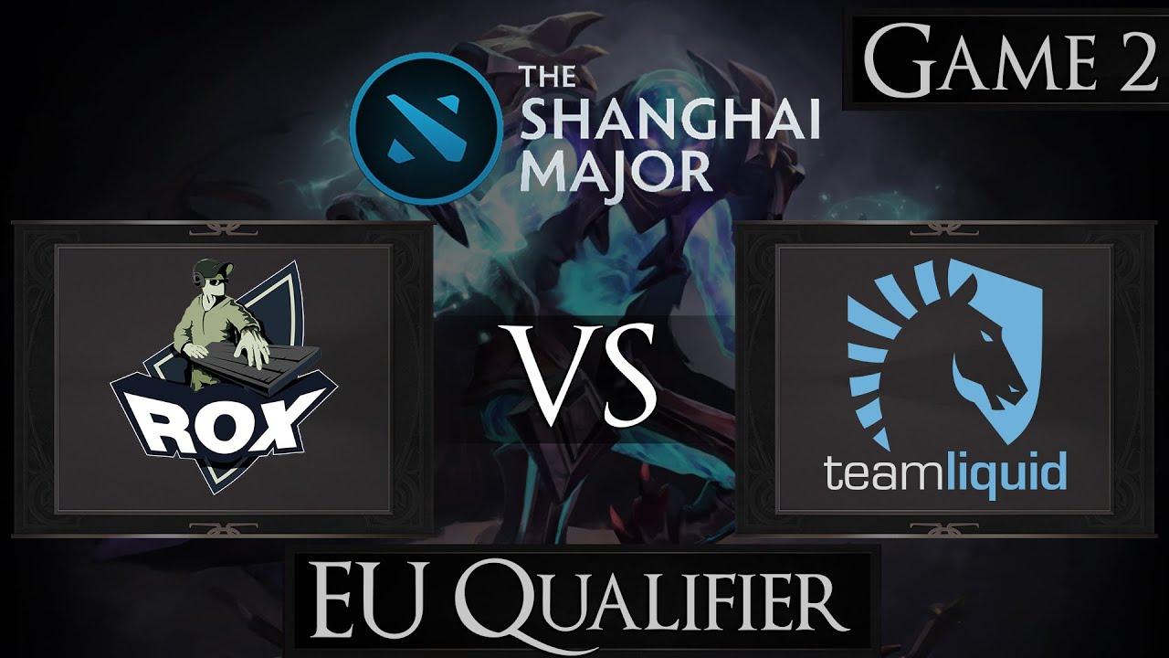 Shanghai Major Dota