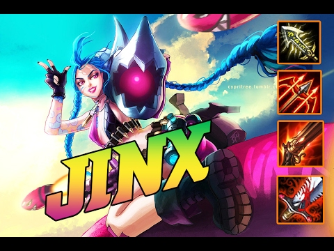 Jinx ADC | Carried Team Like A Boss | Late Game = OP | Build And Play | League Of Legend