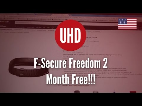F-Secure Freedom 2 Month Free!!! [4K UHD]