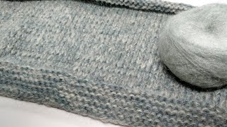 Kr/En/It) how to knit long hoo…