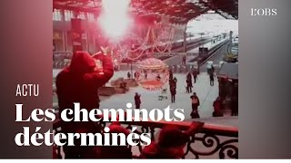 Mobilisation massive dans les transports parisiens pour la grève générale