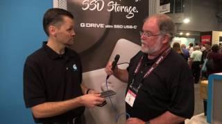Photogearnews at PhotoPlus 2016 - G-Tech - Drives