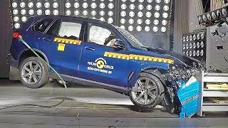😱 BMW X5 (2019) Really Safe SUV??? [Crash Test]