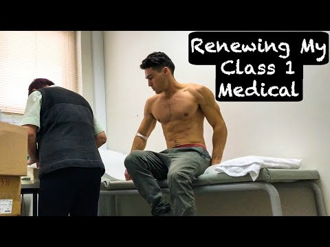 Renewing My Airline Pilot Class 1 Medical | Australia - VLOG #45