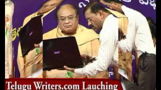 Telugu Writers.com Lauching by Dr.C.NarayanaReddy on 27th July 2011 at: Thyagaraya Gana sabha