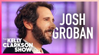 Josh Groban & Kelly Break Into Song Mid-Interview
