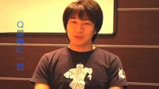「東京俳優市場2010春」第2話からゆだのりをさんのインタビューです。