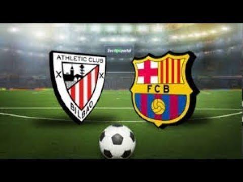 Atletico Bilbao Vs Barcelona - Live Gameplay