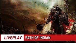 PATH OF INDIAN | Celovečerní stream Path of Exile | LIVEPLAY