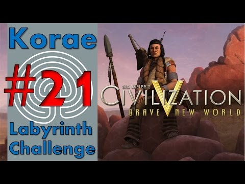 "Civ V BNW LP :: Labyrinth Challenge :: Part 21 - ""Preemptive strike"""