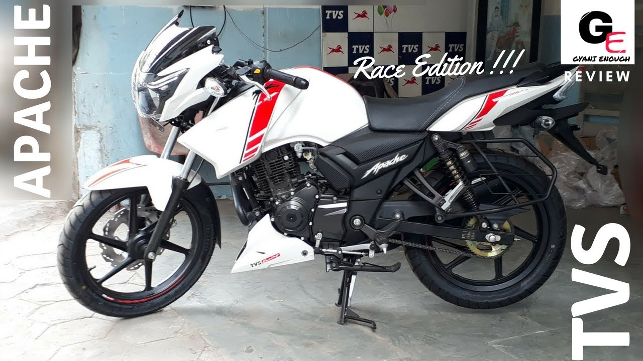 2018 TVS Apache RTR 160 Race Edition | most detailed review | price |  features | mileage !!!