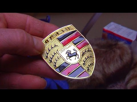 Ebay Porsche Badge Hood ornament Review