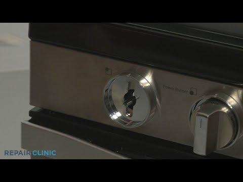 Control Knob Bezel - Whirlpool Gas Range (Model #WFG745H0FS1)