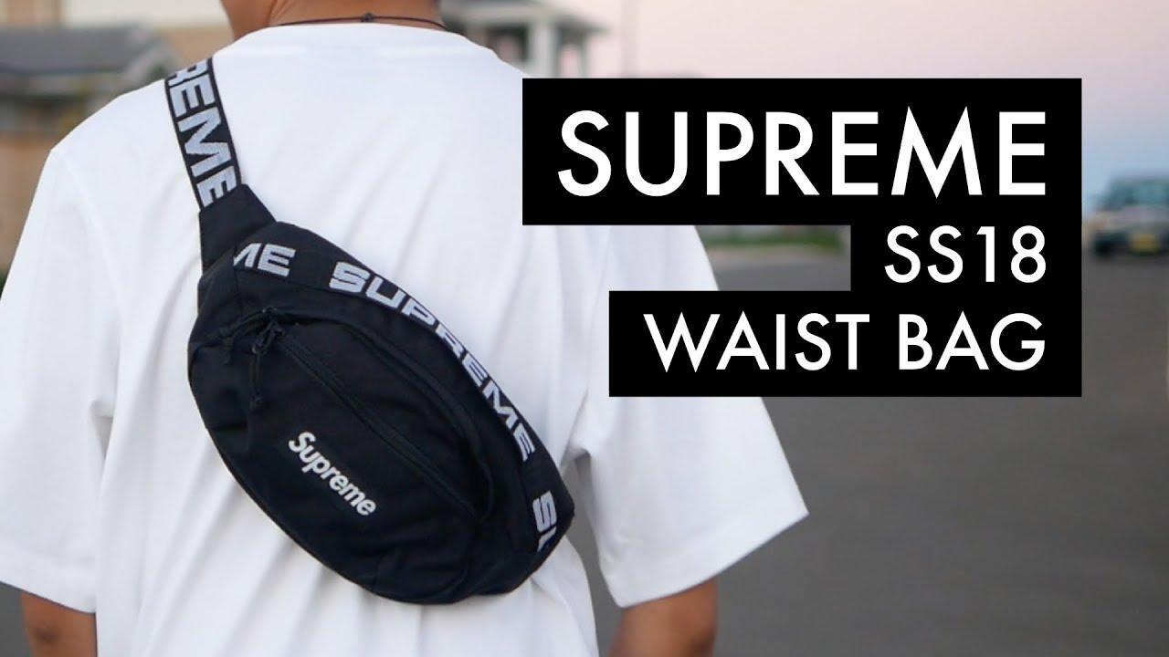 SUPREME SS18 Waist Bag | On-Body - YouTube