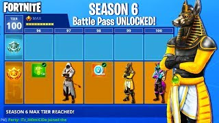 *Season 6* Battle Pass Skins Leaked in Fortnite... (Fortnite Battle Royale - Season 6 Theme Leaked!)