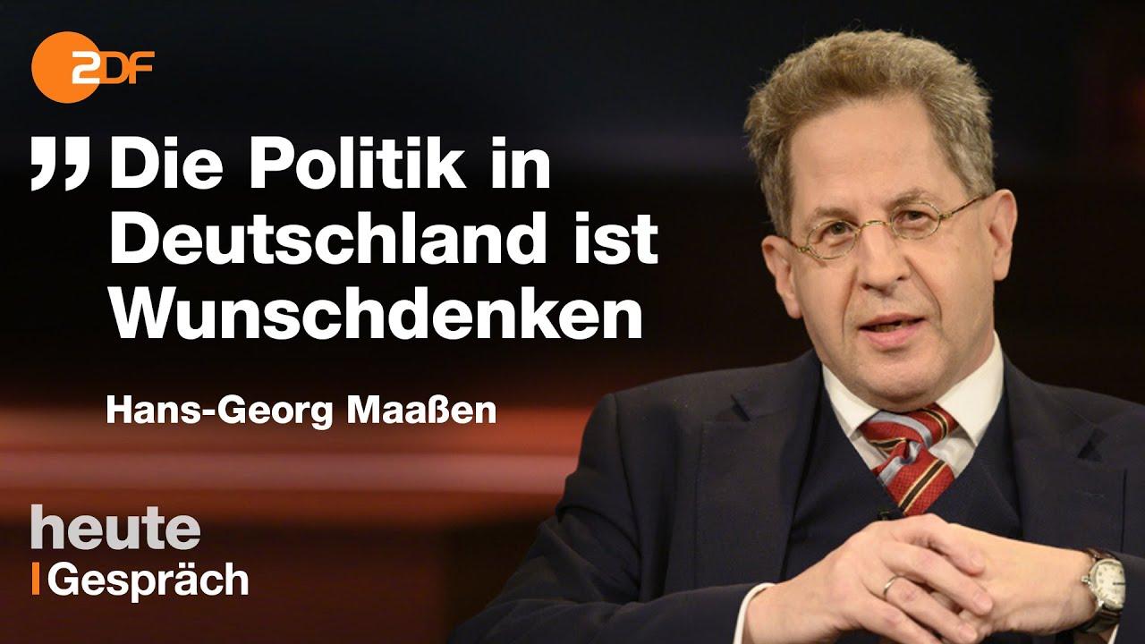 Vom Spitzenbeamten zur politischen Reizfigur - Hans-Georg Maaßen mit Lanz im Schlagabtausch