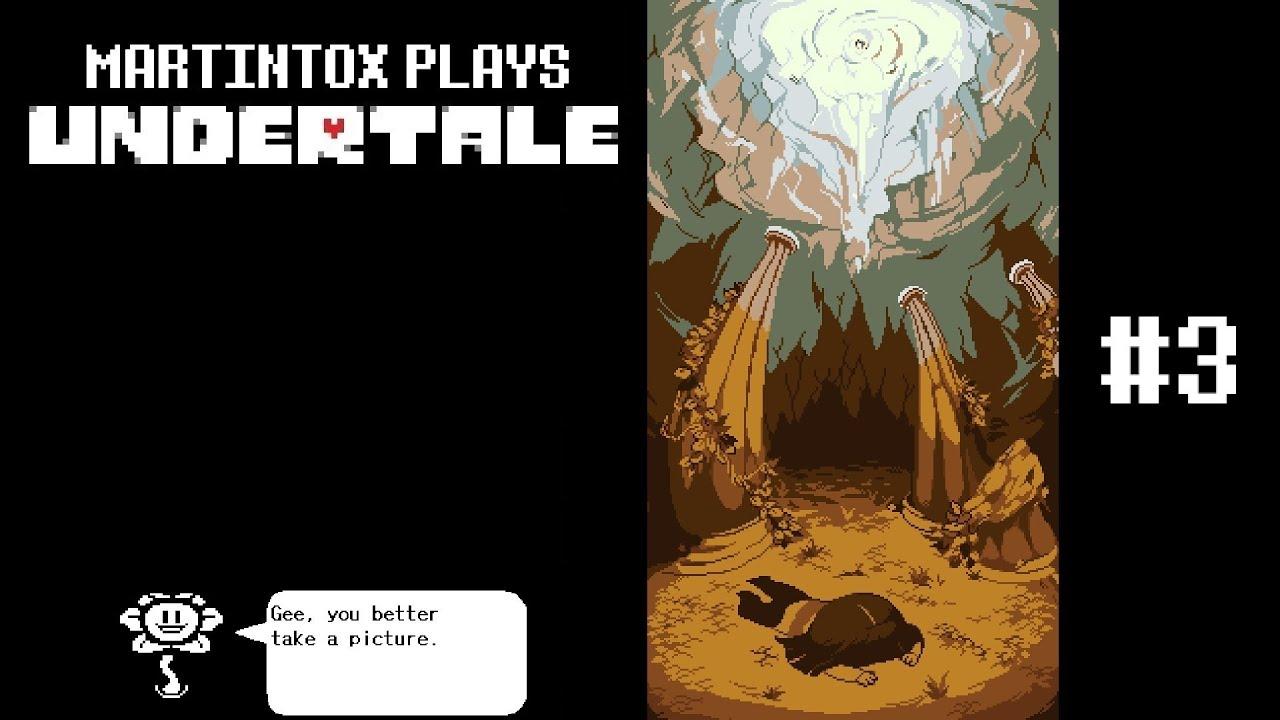 Martintox Plays Undertale, Episode 3: Snowdin Town + Papyrus