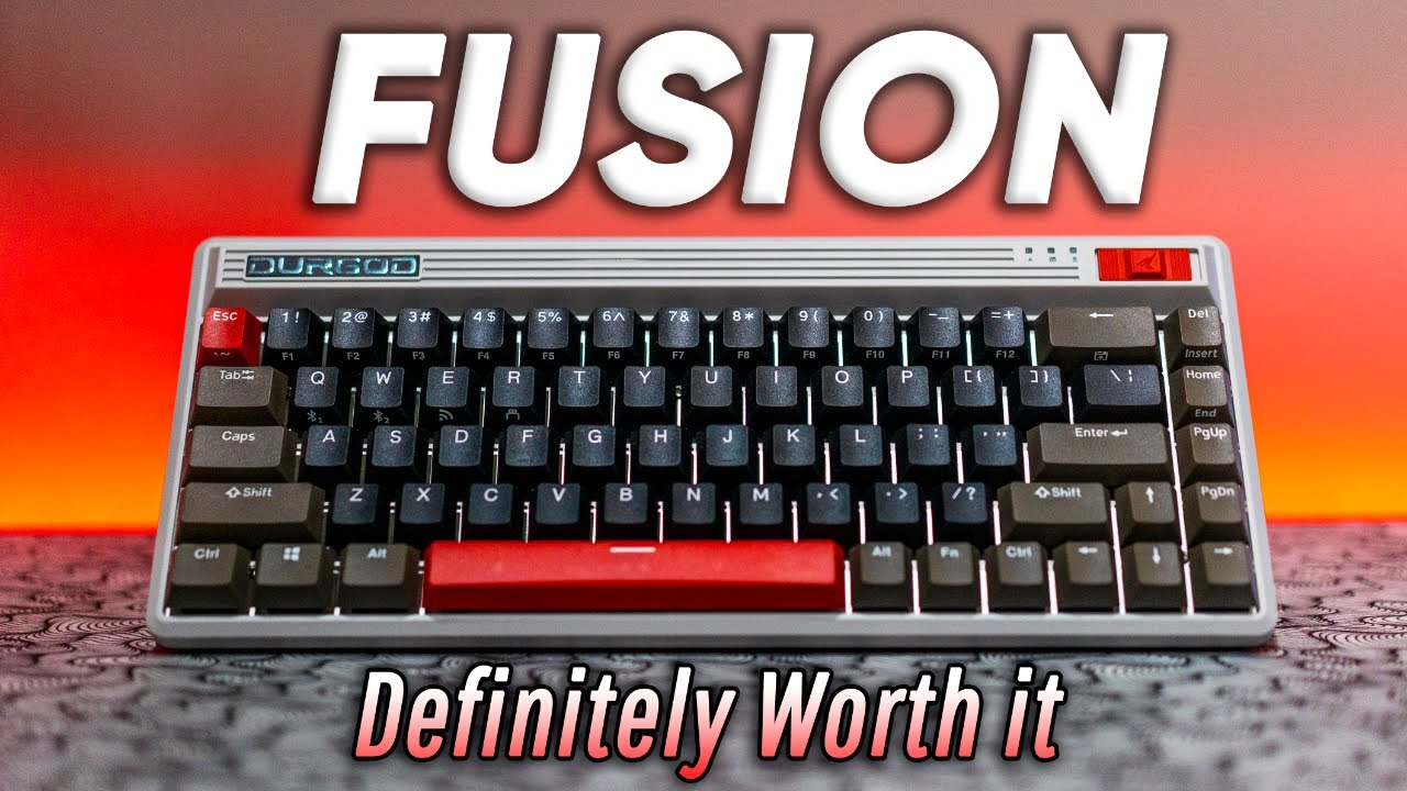 Durgod Fusion Review - Your Set up Needs this Keyboard!!