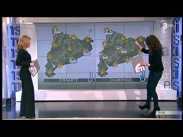 Nuria Sole i Gemma Puig tv3 (18/11/15)