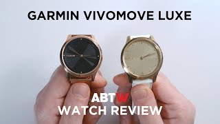 Garmin Vivomove Luxe Watch Review | aBlogtoWatch