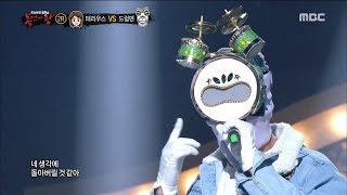 [King of masked singer] 복면가왕 - 'drum man' 2round - LIES 20180311