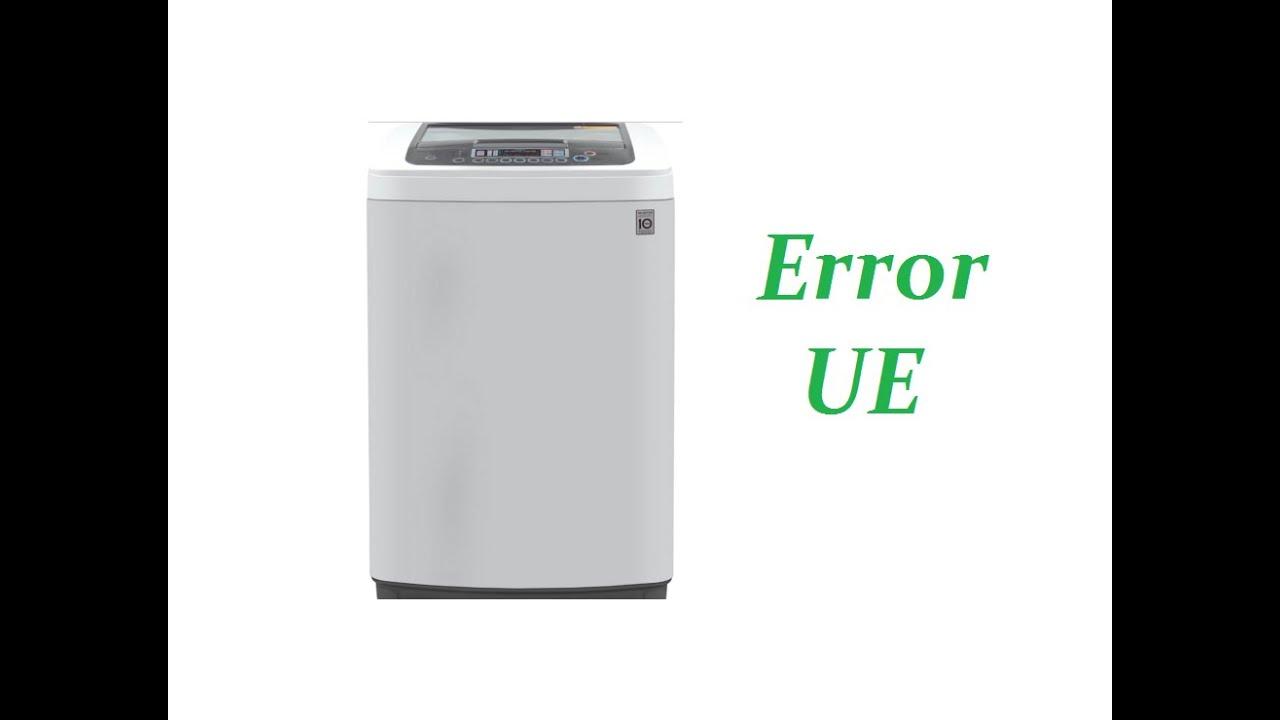 error ue en la lavadora solucionado youtube rh youtube com