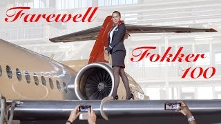 Captain Sandra: Fokker F100 TOP LOW Alps Farewell Flight- HELVETIC ULTIMATE COCKPIT MOVIE [AirClips]