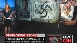CNN Panel on Hitler and Obama