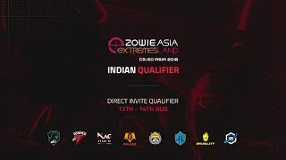 ZOWIE Asia eXTREMESLAND 2018 Indian Qualifier - Direct Invite Qualifier : Day 2