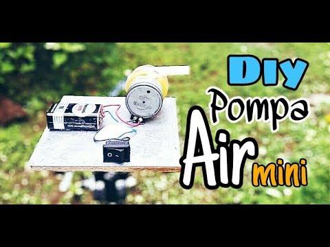 Ide Kreatif Membuat Mesin Pompa Air Dari Barang Bekas Youtube