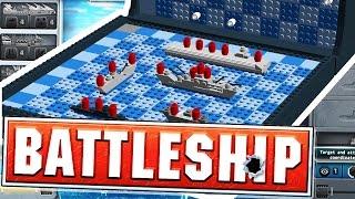 SINKING TEWTIY'S BATTLESHIPS - BATTLESHIP BOARD GAME