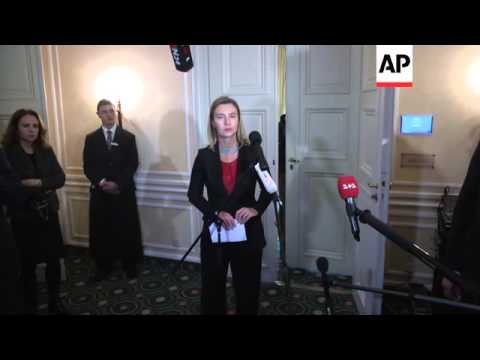 EU Foreign Policy chief on Mideast Quartet talks