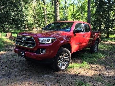 2016 Toyota Tacoma Limited – Redline: Review