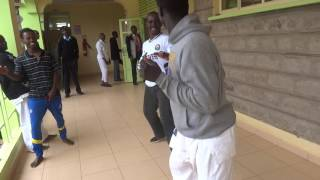 Kenya real fight before kumite
