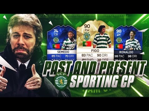 PAST AND PRESENT SPORTING CP SQUAD BUILDER with TOTY RONALDO - FIFA 16 Ultimate Team - TOTS SLIMANI