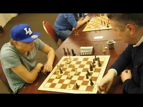 GM Kovalev - GM Novik chess blitz