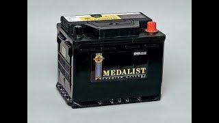 MEDALIST Premium Battery 66 А/ч 510 EN. Отзыв. Старый, но живучий Аккумулятор (АКБ). 13 лет работы!