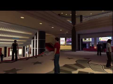 PlayStation Home: Home Theatre - Tour