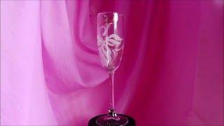 Свадебные бокалы.Жар-птица 1
