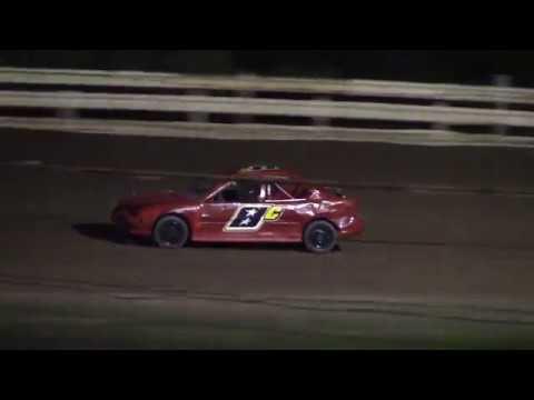 Hummingbird Speedway (9-15-18): Aaron's Four-Cylinder Heat Race #2