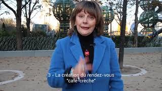 Bilan mandat 2/5 - Martine Figueroa - Petite Enfance - Paris1er