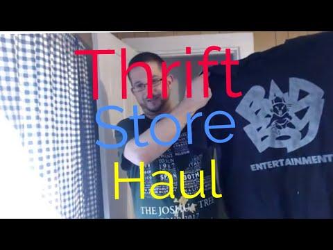 Thrift Store Haul - Vintage Bad Boy Rap Tee T-Shirt & Isaia Napoli - Amazon FBA & EBay