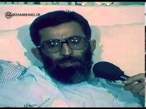 Ayatollah Khamenei after terrorist attack