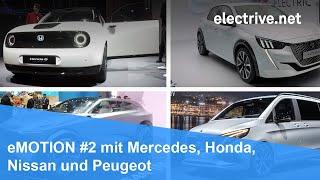 eMOTION #2 mit Mercedes, Honda, Nissan und Peugeot