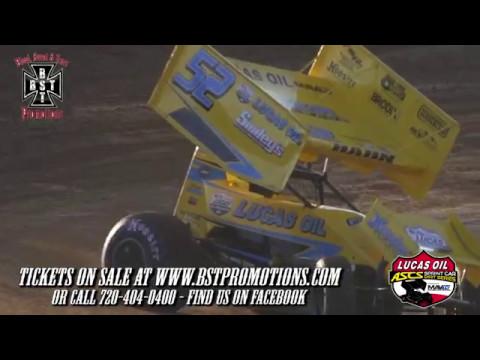 Lucas Oil 360 ASCS at Phillips County Raceway - Announcement